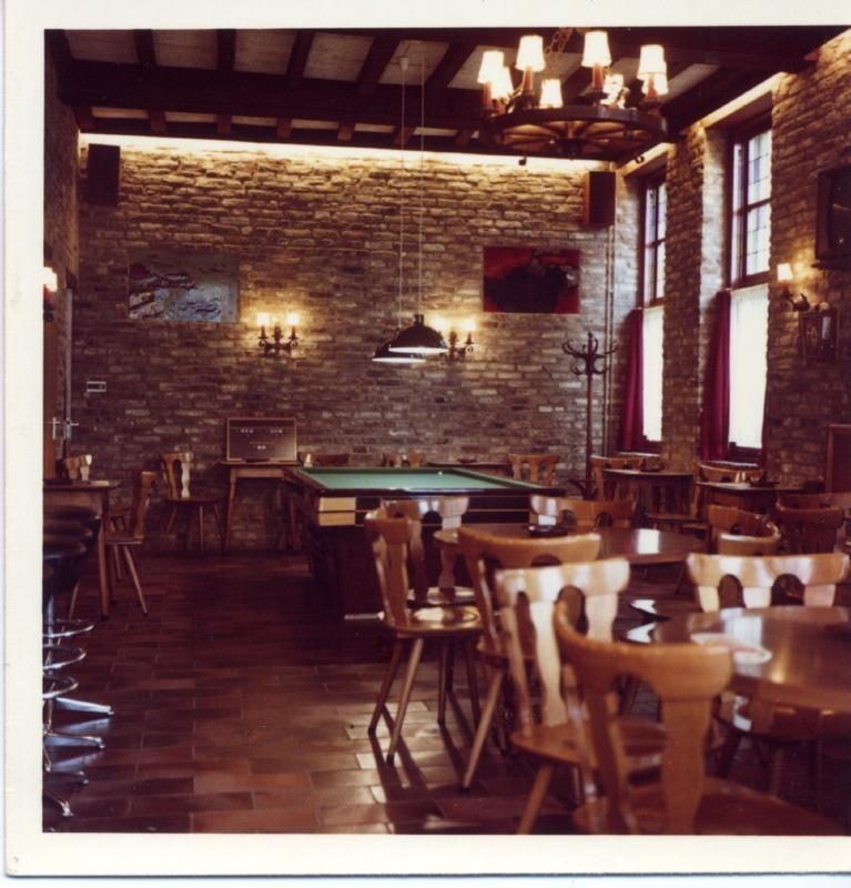 interieur de zwaan jaren 7080 cafe de zwaan maastricht