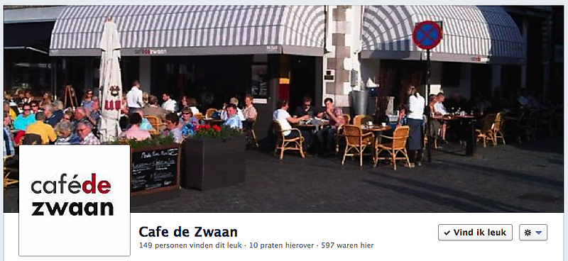 Facebook Cafe De Zwaan